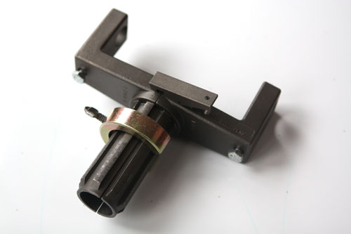 Gear Adapter with Safety Clamp