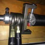 E-Z RATCH Torsion Spring Tightener installing gear adapter